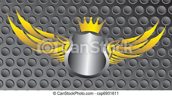 blank emblem - csp6931611