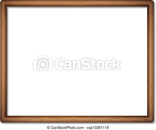 blank empty frame vector - Empty Picture Frame
