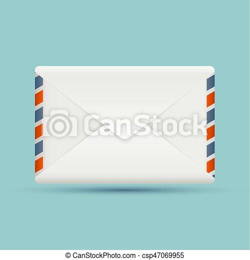 blank envelope - csp47069955