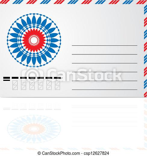 blank envelope - csp12627824