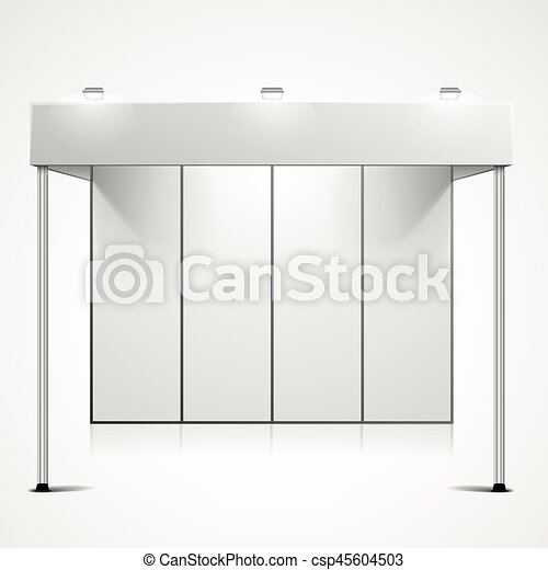 Exhibition Booth Blank : Empty indoor trade exhibition booth stand england uk stock photo