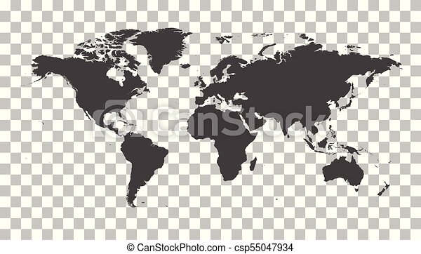Blank grey political world map worldmap vector template for website blank grey political world map worldmap vector template for website infographics design flat earth world map illustration gumiabroncs Image collections