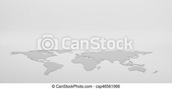 Blank grey world map isolated on white background infographics blank grey world map isolated on white background infographics illustration gumiabroncs Choice Image