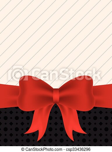 Blank invitation with red ribbon blank invitation card eps blank invitation with red ribbon vector stopboris Gallery