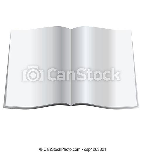 Blank magazine - csp4263321