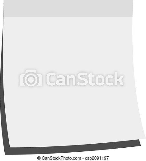 Illustration Of A Blank Memo Stick Stock Illustrations  Search Eps