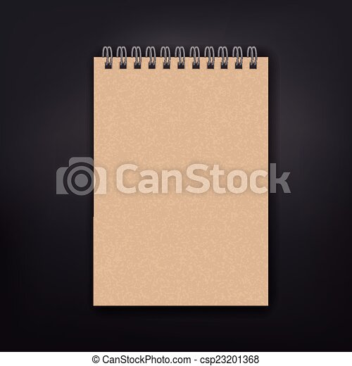 blank note book - csp23201368