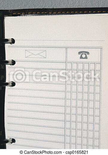 blank notebook - csp0165821