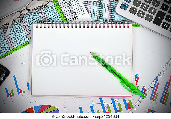 blank notebook - csp21294684