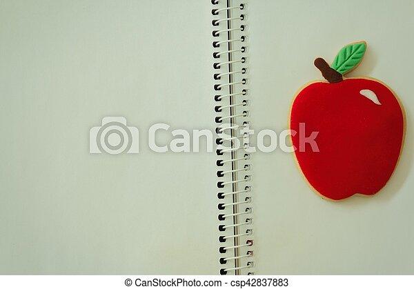 Blank notebook - csp42837883