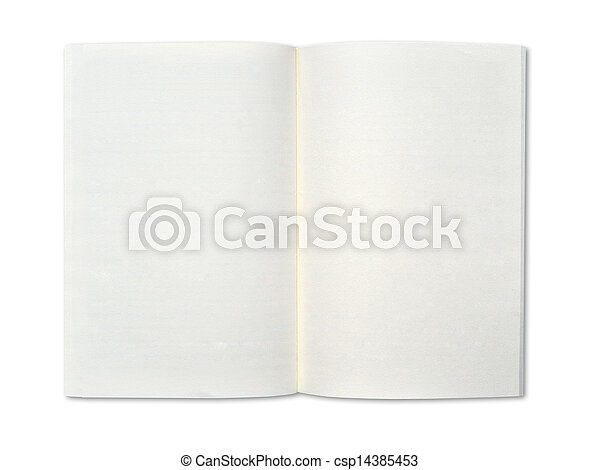 Blank notebook - csp14385453