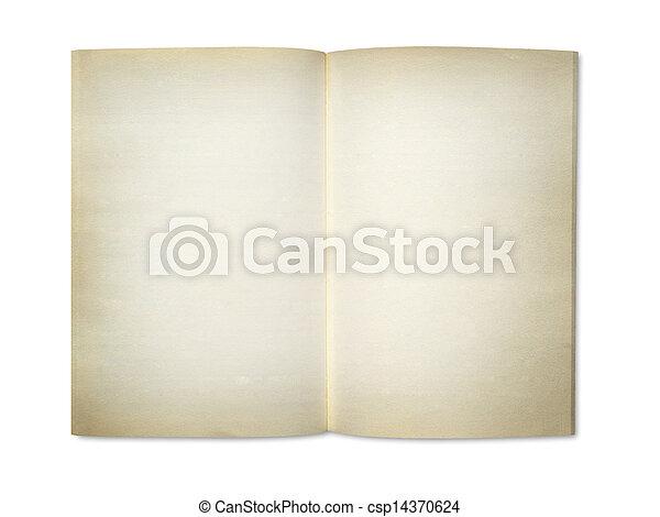 Blank notebook - csp14370624
