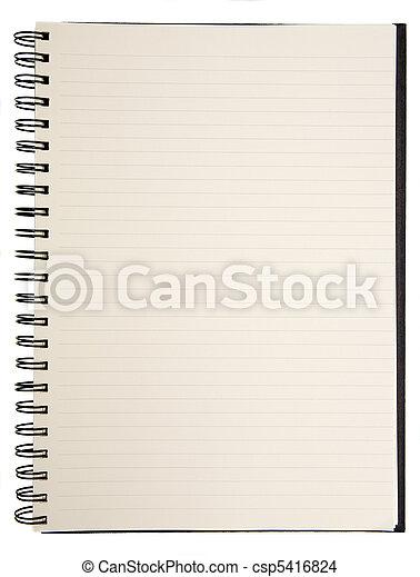 Blank Notebook - csp5416824