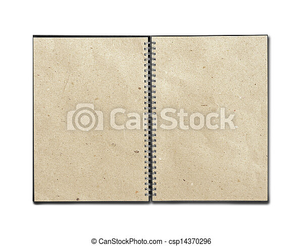 Blank notebook - csp14370296