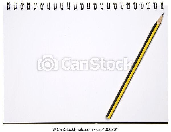 Blank Notepad - csp4006261