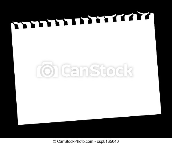 Blank Page - csp8165040