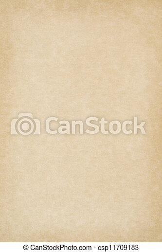 Blank Parchment Paper - csp11709183