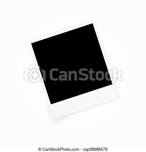 Blank Photo Polaroid Frame Isolated On White Background Shadow Effect And Empty Space For Your Photography Scrapbook Album Canstock Create a new file (file > new). https www canstockphoto com blank photo polaroid frame isolated on 38688479 html