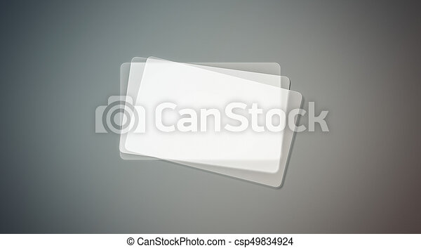 Blank plastic transparent business cards stack mock up 3d rendering blank plastic transparent business cards stack mock up 3d rendering clear pvc namecard mockup with rounded corners empty acrylic horizontal customer colourmoves