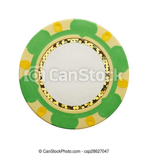 Blank Poker Chip - csp28627047