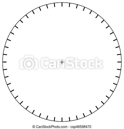 Blank Polar Graph Paper  Protractor  Pie Chart Vector  Vectors