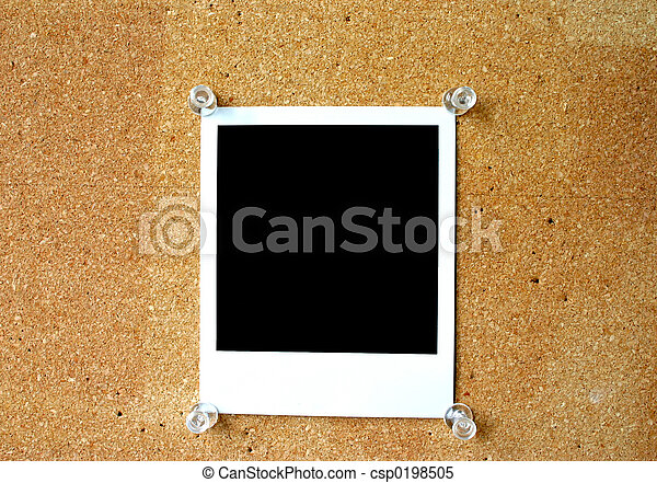 blank polaroid #2 - csp0198505