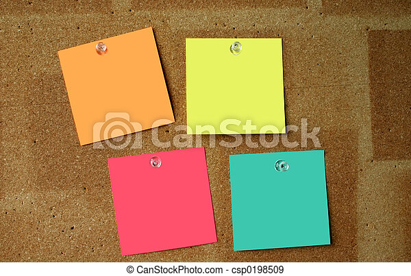 Blank post-its #3 - csp0198509