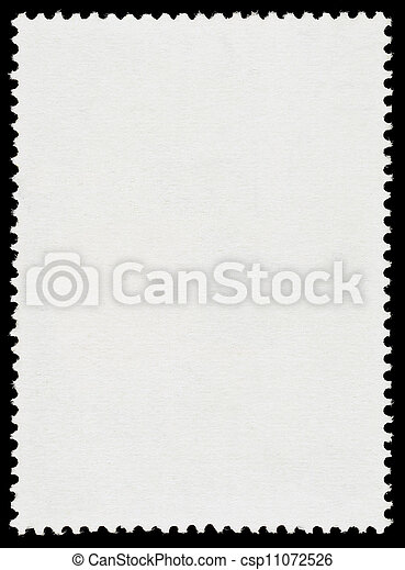 Blank Postage Stamp - csp11072526