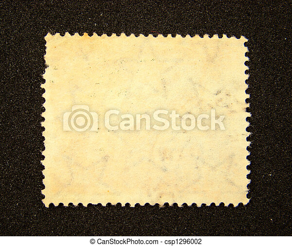 Blank postage stamp - csp1296002