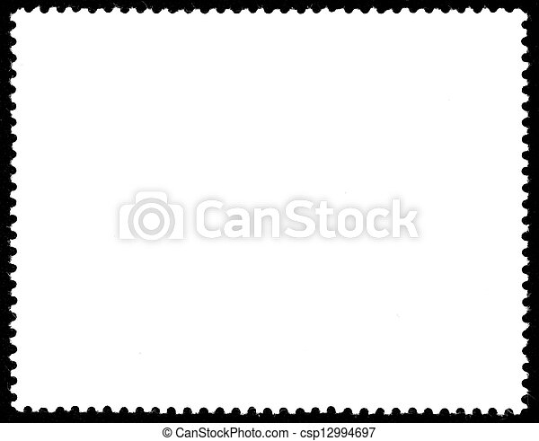 blank postage stamp - csp12994697