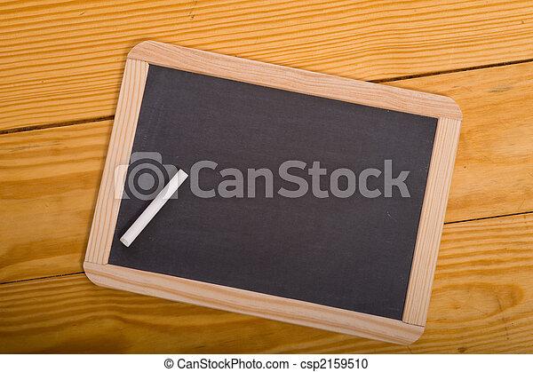 Blank School Chalkboard - csp2159510