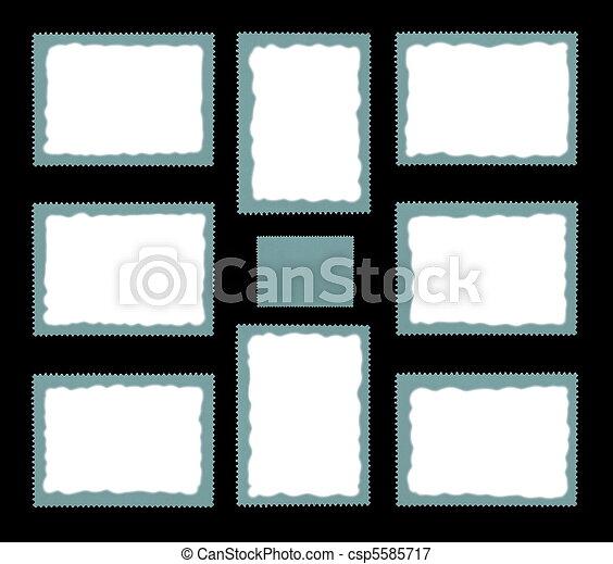 Blank Set Postage Stamp - csp5585717