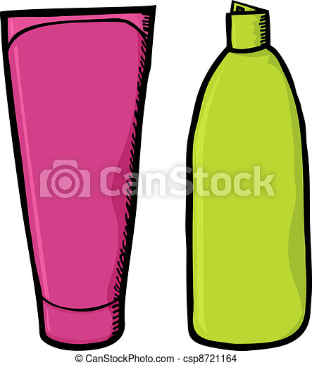 blank shampoo containers two generic colorful soap and eps rh canstockphoto com shampoo bottle clipart black and white clipart shampoo bottles for free