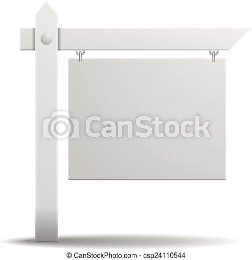 blank sign - csp24110544