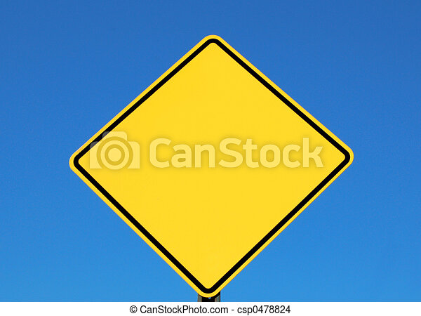 Blank Sign For Text - csp0478824