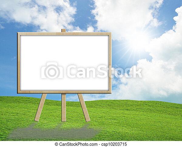 blank sign - csp10203715