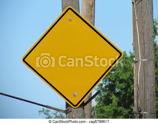 Blank Sign - csp8799617
