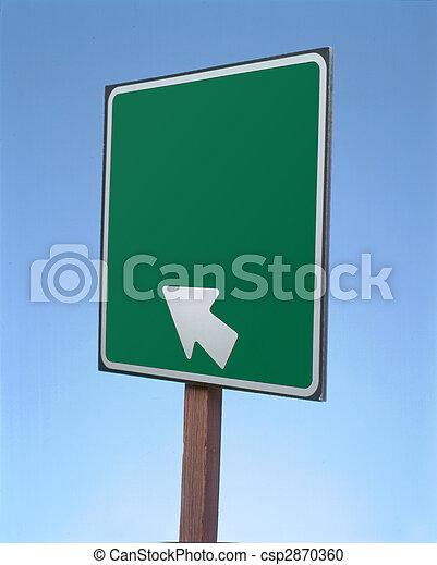 Blank Sign - csp2870360