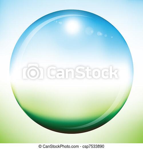 Blank summer sphere - csp7533890