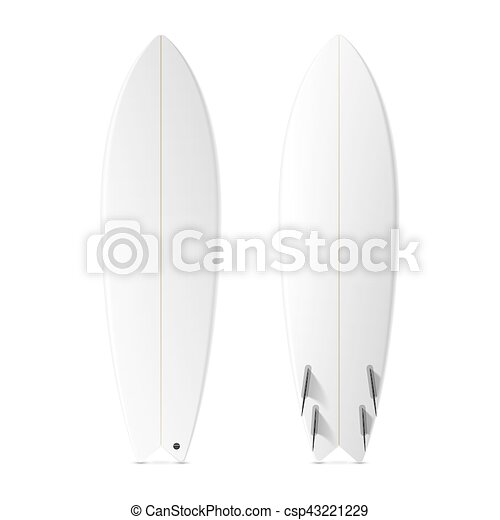 Blank surfboards template vector illustration - Search Clipart ...