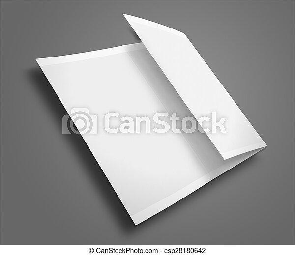 blank trifold brochure blank trifold brochure zigzag folded flyer