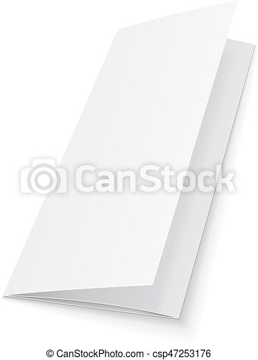 blank trifold paper leaflet flyer broadsheet flier follicle