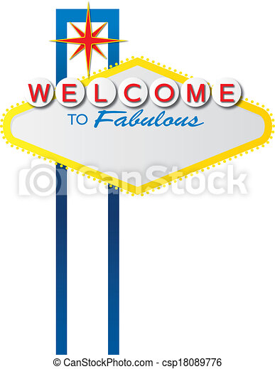 blank vegas sign the iconic las vegas welcome sign which is in the rh canstockphoto com las vegas sign vector art fabulous las vegas sign vector free