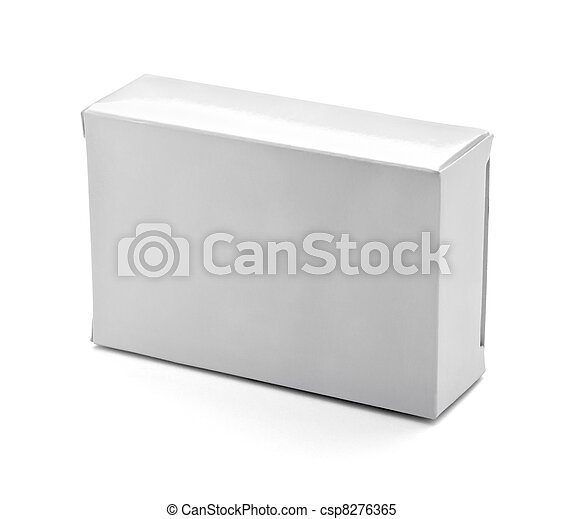blank white box container - csp8276365