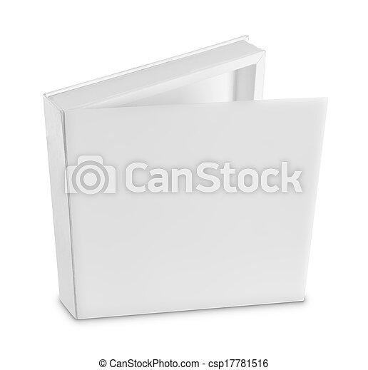 blank white box - csp17781516