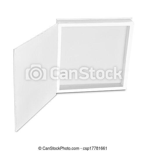 blank white box - csp17781661