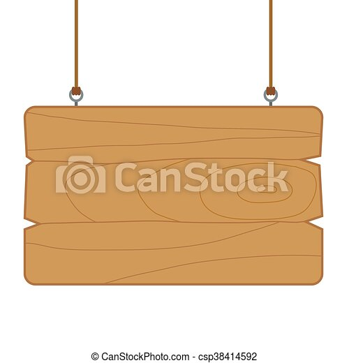 Blank wooden sign board template. Vector stock of blank wooden sign ...