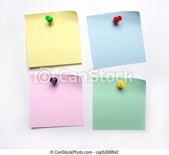 blank yellow post it to do list - csp5268842