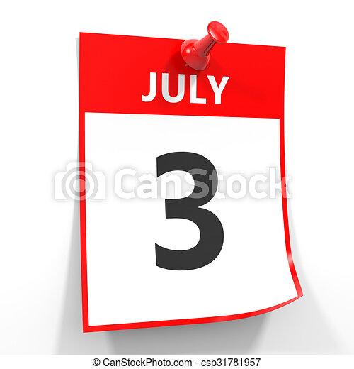 3. Juli