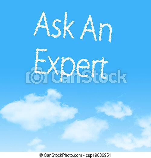 blauer himmel, design, hintergrund, wolke, ikone - csp19036951